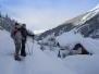 Schneeschuhtour Zirma-Alm, Kalte Herberge - Schmirn